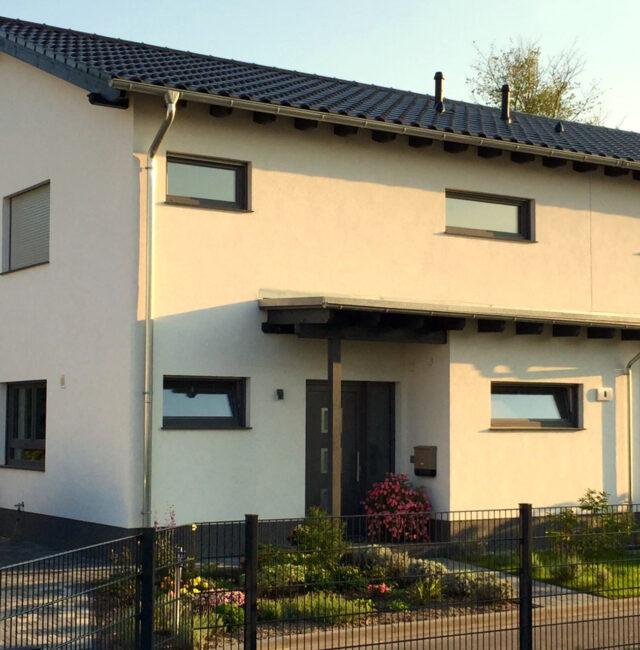 """Doppelhaus """"Minzblatt"""""""